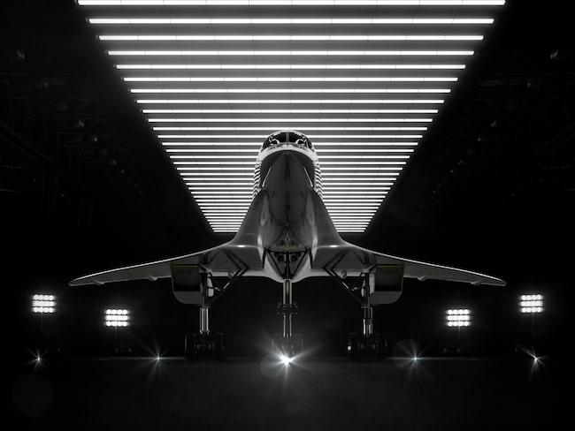"""Företaget beskriver det som """"Son of Concorde""""."""