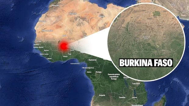 Soldater dödade i Burkina Faso