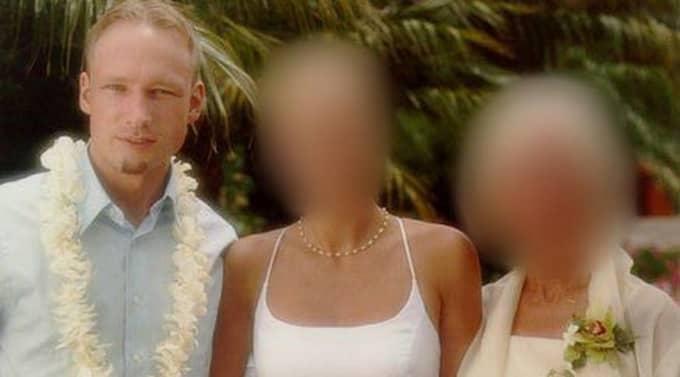 Egna albumet. En idyllisk familjebild i Anders Behring Breiviks fotoalbum som han lagt upp på internet. Foto: Privat