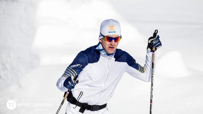 Teodor Peterson är beredd på att det kan bli vallaproblem under mprgondagens sprint. Foto: CHRISTINE OLSSON/TT / TT NYHETSBYRÅN