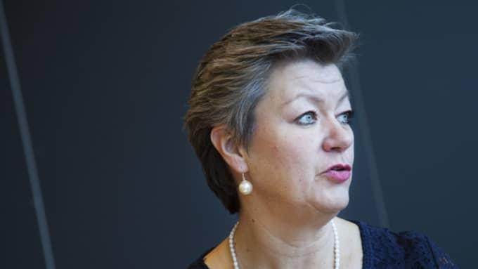 Ylva Johansson (S). Foto: Stina Gullander/Tt