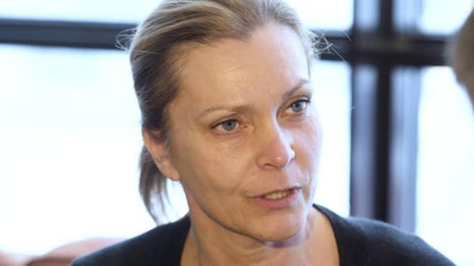 """Lena Nitz, ordförande i polisförbundet, riktar skarp kritik mot rikspolischef Dan Eliasson: """"Måste förstå hur djupt och stort missnöjet är."""" Foto: Sven Lindwall"""