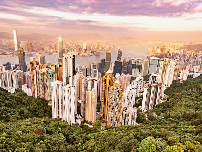 I helgen kunde resenärer köpa kraftigt reducerade flygbiljetter till Hongkong.