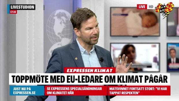 """Klimatspecial: Magnus Falkehed: """"Gyllene tillfälle för Europa att sätta ribban"""""""