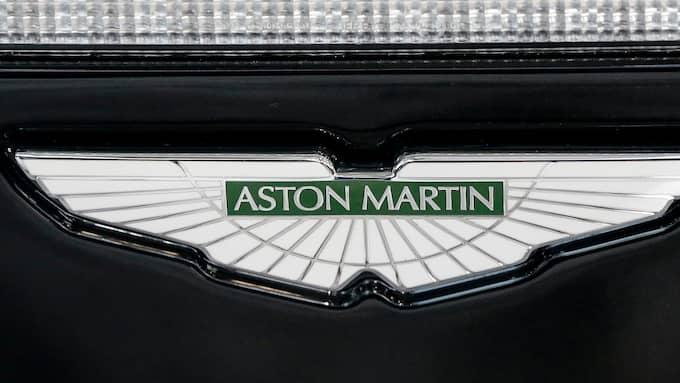 Bilden är av modellen Aston Martin Vanquish. Foto: JASON SZENES / EPA / TT / EPA TT NYHETSBYRÅN