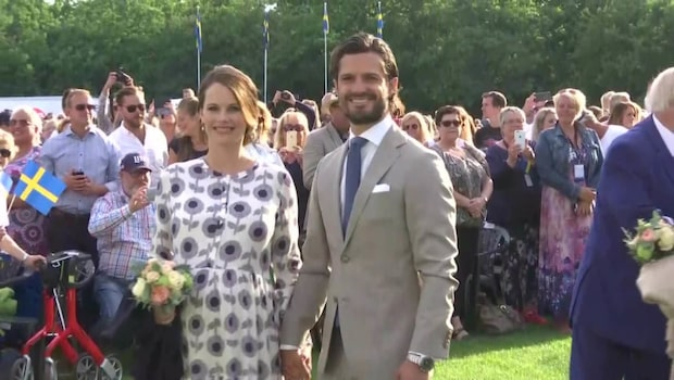 Vittnesceremoni hålls på slottet: Nu avslöjas prinsbarnets namn