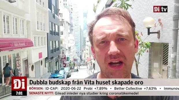 Di Morgonkoll: Dubbla budskap från Vita huset skakar börserna