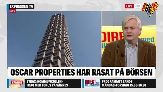 Oscar Properties rasade på börsen i dag