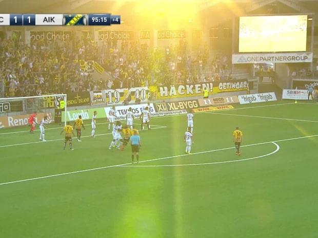 Höjdpunkter: Häcken-AIK