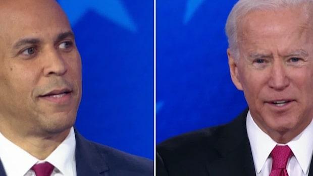 """Harris svar efter Bidens miss: """"Står precis här"""""""