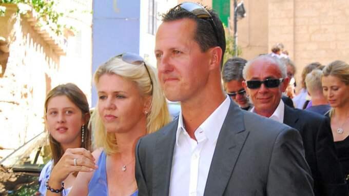 Corinna och Michael Schumacher. Foto: Image Point/Rex / IMAGE POINT/REX/ALL OVER PRESS REX FEATURES