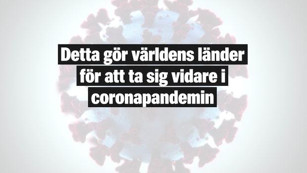 Detta gör länder för att ta sig vidare i coronapandemin