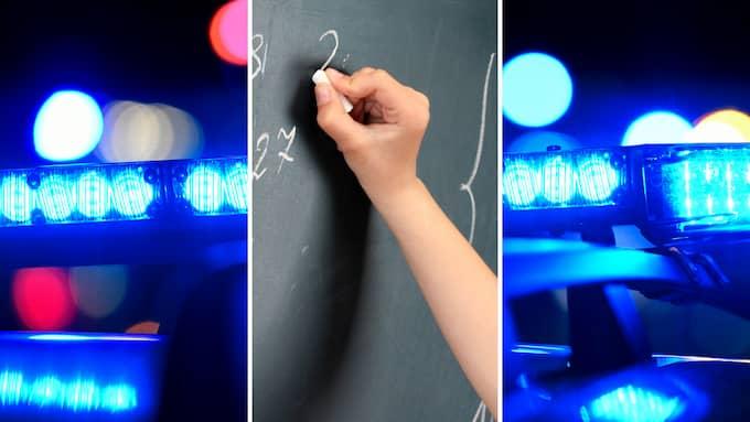 Det är utmärkt att blåljuspersonalens utsatthet uppmärksammas och åtgärdas. Men hotade och våldsutsatta samhällsbärare som lärare har varken vapen eller tunga fordon.