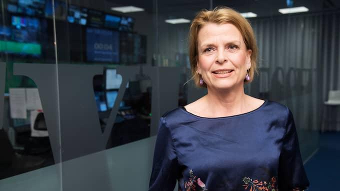 """Åsa Regnér gästade onsdagens """"Bara politik"""" i Expressen TV. Foto: OLLE SPORRONG"""