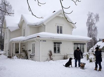Nytt hem med gammaldags atmosfär Leva& bo Expressen Leva& bo