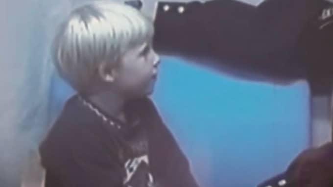 Christian, den andre brodern som pekades ut som skyldig. Foto: SVT/DOKUMENT INIFRÅN