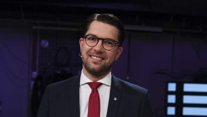 Jimmie Åkesson (SD). Foto: Nils Petter Nilsson
