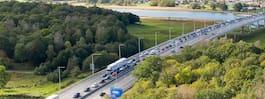 JUST NU: Olycka på E6 – kilometerlånga köer