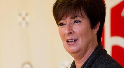 Som före detta statsråd har Mona Sahlin rätt till en ordentlig pension. Foto: Sven Lindwall