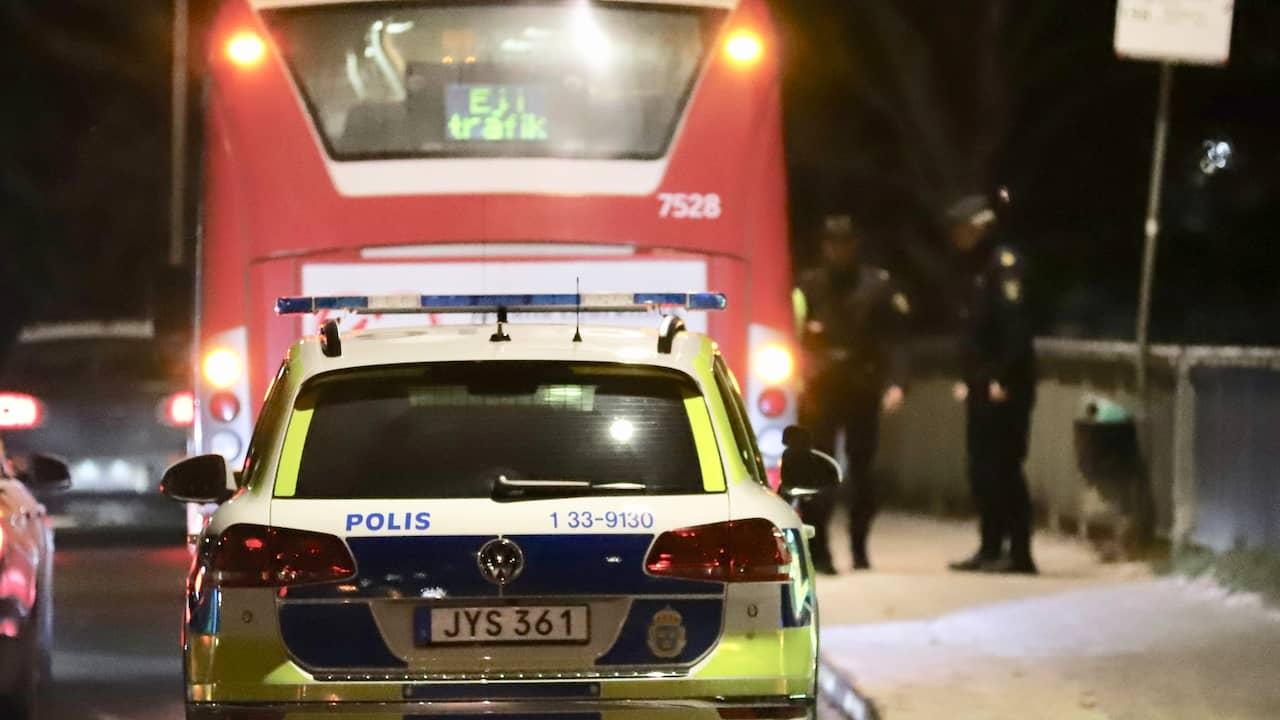 Man dod blev pakord av buss
