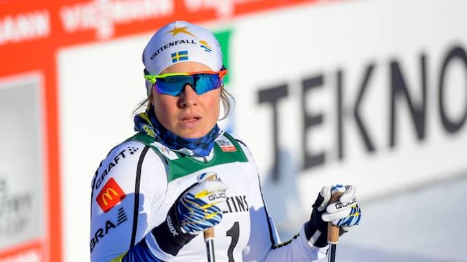 Hanna Falk under OS. Foto: FREDRIK VARFJELL / BILDBYRÅN NORWAY