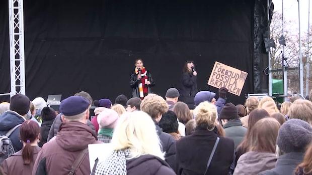 """Klimatstrejk i Rinkeby: """"Jag vill få min röst hörd"""""""