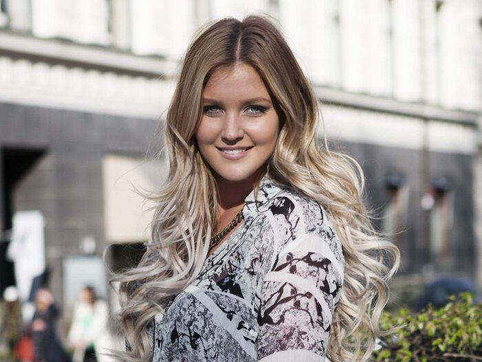 Frisören och bloggaren Elin Johansson är Sveriges främsta specialist på Ombre och bär en själv.
