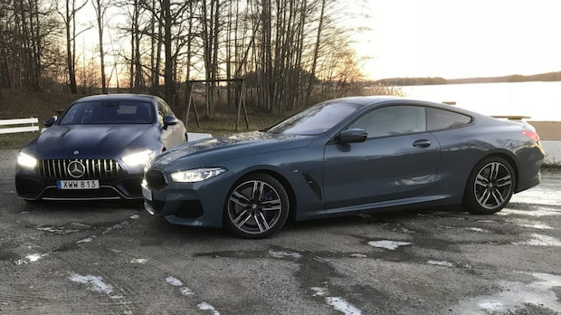 Tuff duell mellan Mercedes och BMW:s värstingar