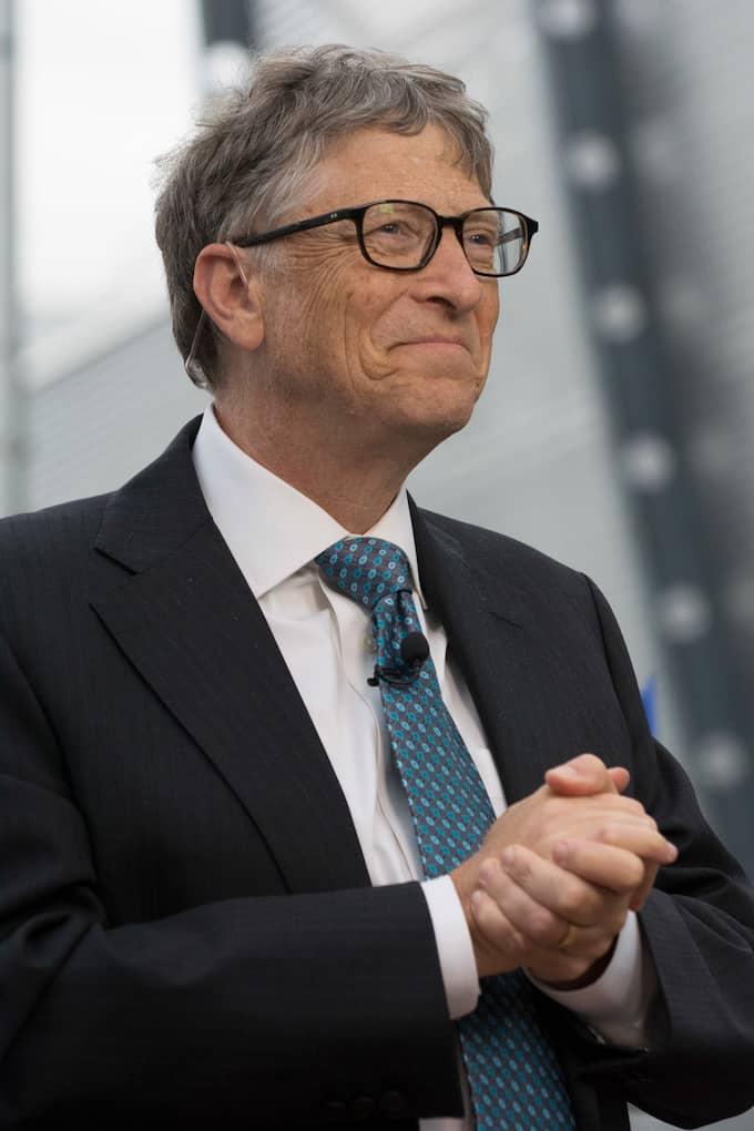Bill Gates – inte längre rikast. Foto: JOAO LUIZ BULCAO / POLARIS POLARIS IMAGES