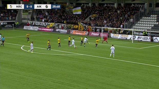 """Obasi ger AIK ledningen: """"Hög klass"""""""