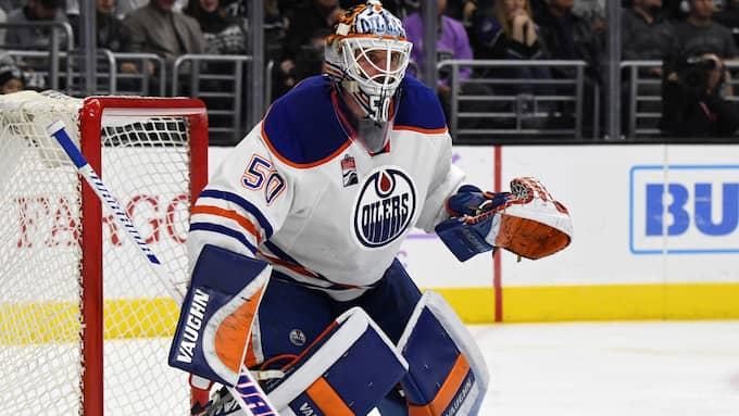 "Jonas ""Monstret"" Gustavssons senaste klubbadress i NHL var Edmonton Oilers. Foto: USA TODAY NETWORK / USA TODAY SPORTS//IBL SIPA USA"