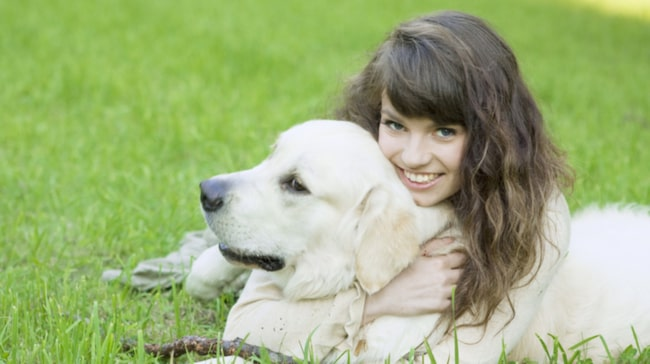 Hunden raddade livet pa sjuarig diabetiker