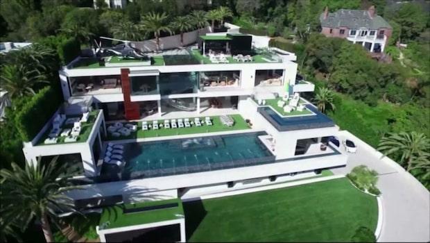 USA:s dyraste hus till salu för 2,3 miljarder kronor