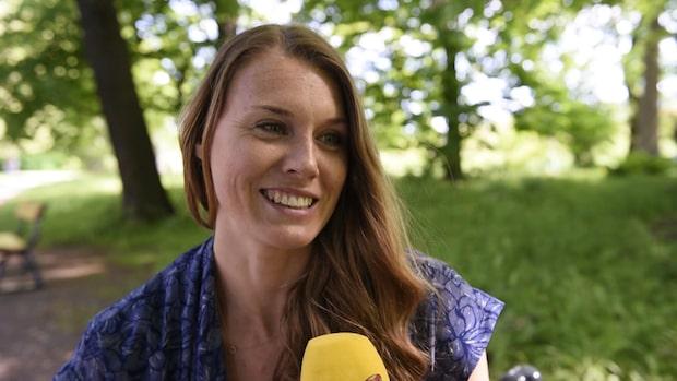 Emma Green om sitt nya liv som mamma