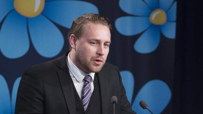 Mattias Karlsson (SD). Foto: Sven Lindwall