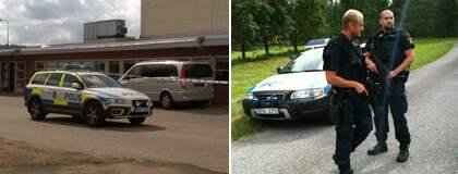 Stort polispådrag vid Smålandsstenar Kvällsposten