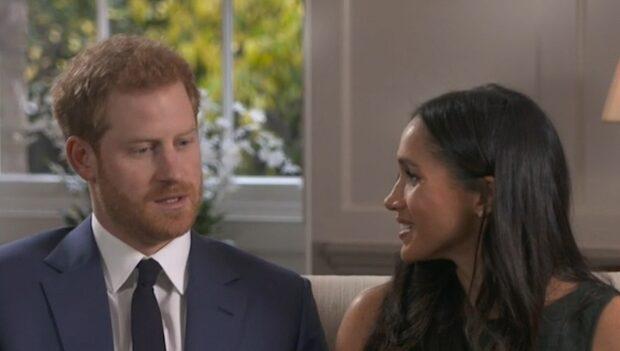 Så har prins Harrys och Meghan Markles kärlekshistoria sett ut