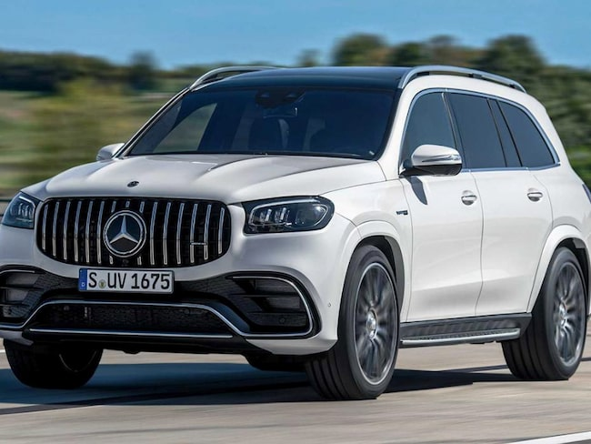 Nya Mercedes-AMG GLS 63 4Matic+ är nu officiell.