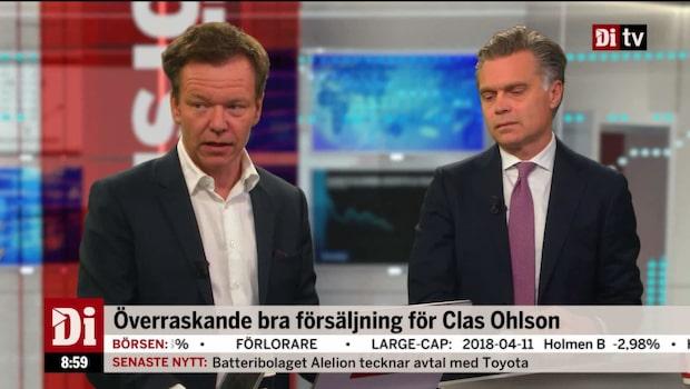 """Petersson: """"Ett fall framåt för Clas Ohlson"""""""