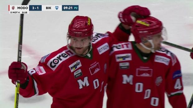 Highlights: Modo vann toppmötet med Karlskoga