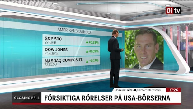 """Lidfeldt: """"Då är det starkaste Q1:an på 8 år"""""""
