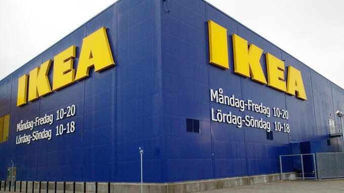 Ikea ger sina heltidsanställda en bonus på 13 000 kronor i julklapp. Foto: LASSE SVENSSON