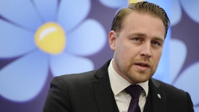 Mattias Karlsson (SD). Foto: JESSICA GOW/TT