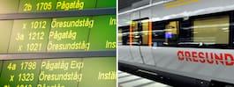 Tågbrist skapar trängsel  – missnöje mot verkstaden