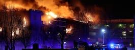 Flera misstänkta för storbranden i Skövde