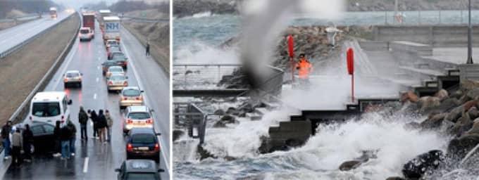 """Stormen Berit har nyss härjat i Lofoten - och nu är en ännu starkare storm på väg mot södra Sverige. I dag kan SMHI utfärda en klass 3-varning - och räddningstjänsterna i Sydsverige gör sig redo med höjd beredskap. """"Vindstyrkorna är på samma nivå som stormarna Gudrun och Per"""", säger jourhavande meteorolog Ibrahim Al-Mausawe på SMHI. Foto: Scanpix"""