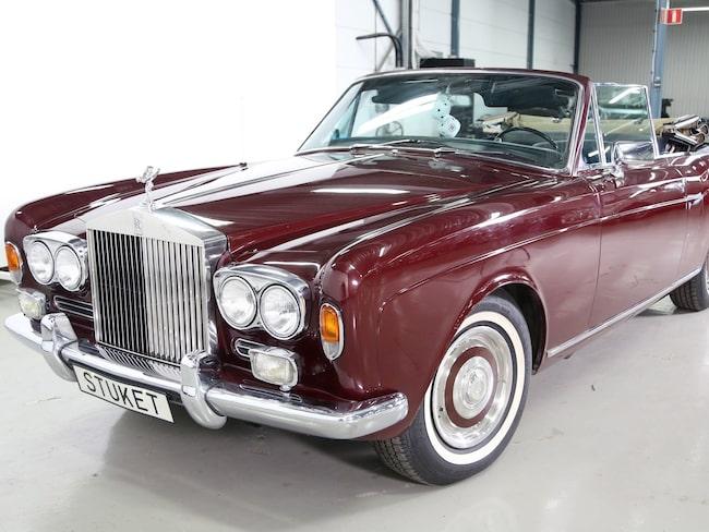 Rolls-Royce Silver Shadow Corniche från 1969 – på sin tid en av världens lyxigaste bilar.