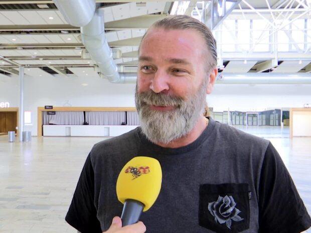 """Patrik Sjöberg avslöjar: """"Jag är höjdrädd"""""""
