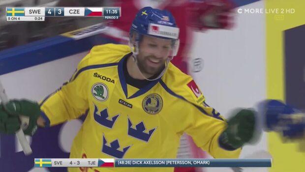 Höjdpunkter: Sverige-Tjeckien