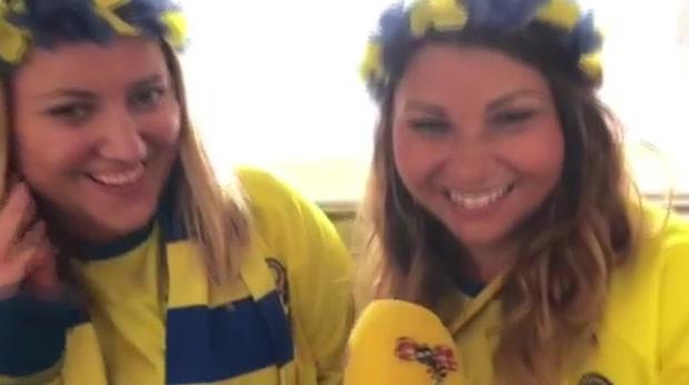 Så laddar svenska supportrarna i Amsterdam